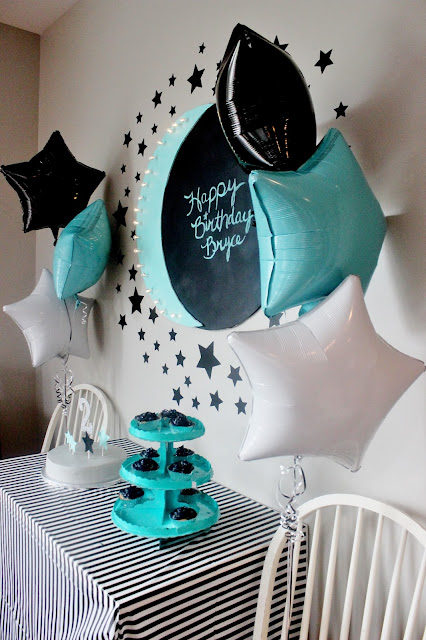 star and moon theme for birthday