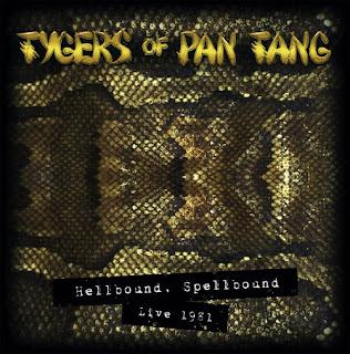 """Το σποτ των Tygers of Pan Tang για την κυκλοφορία του """"Hellbound Spellbound Live 1981"""""""