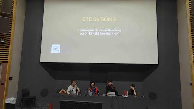 Eté saison 3 Aubert et Marie Spinale, Thomas Cadène et josef Saffiedine FIBD 2019