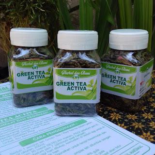 cara minum green tea activa