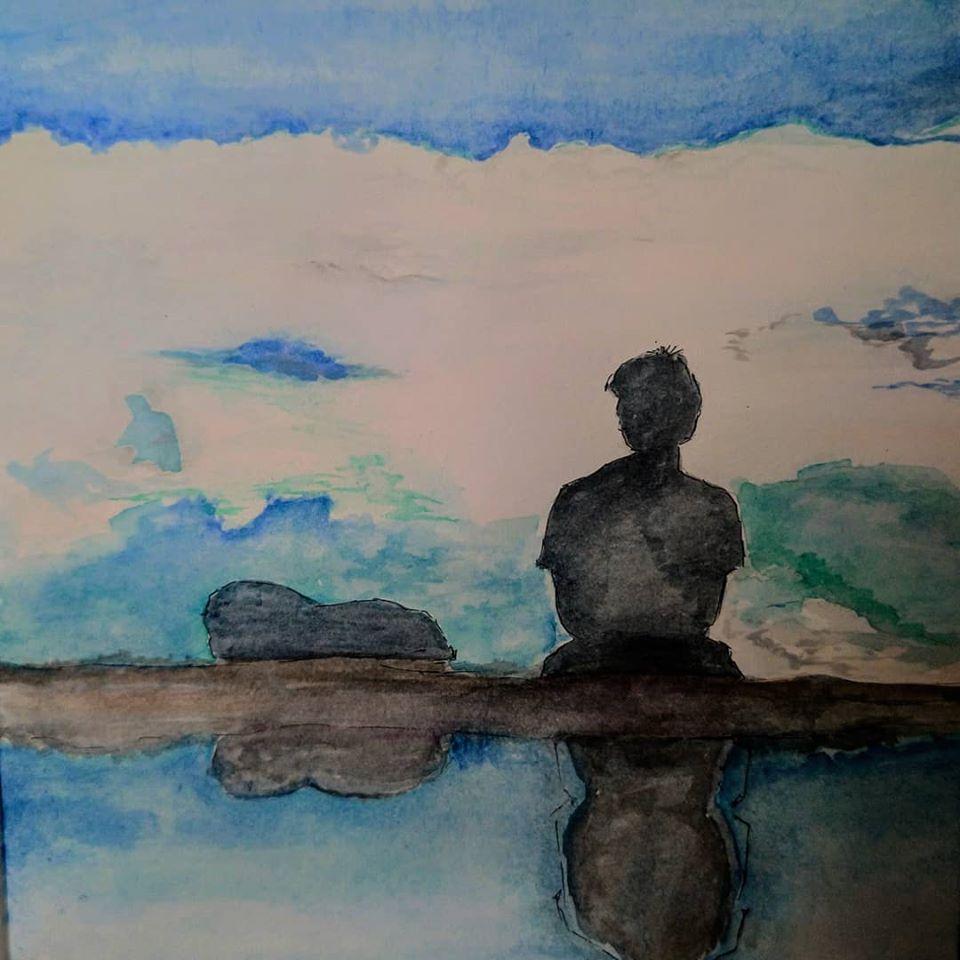 cLOUD nINE water painting