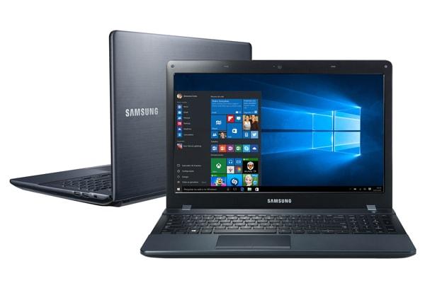 Notebook Samsung i7 5ª geração e 15,6 polegadas