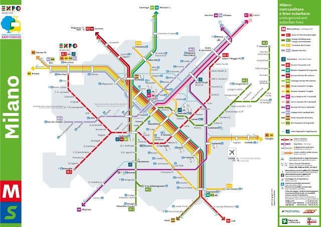 Transportes en Milán metro y cercanías