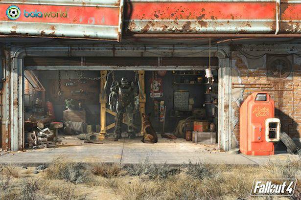 Bola World - Game Online Bola - Fallout 4 akan dirilis tanggal 10 November 2015