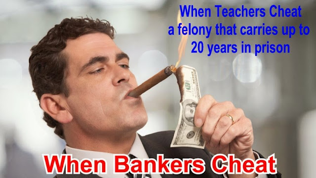 Image result for big education ape but teachers went to jail