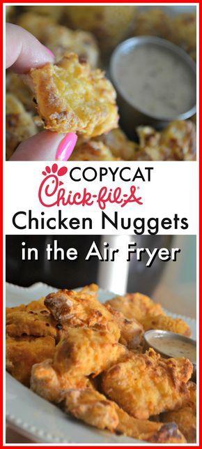 Copycat Chick-fil-A Nuggets