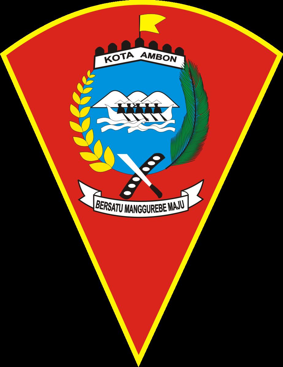 Logo Kota Ambon Kumpulan Logo Lambang Indonesia