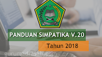 Download Buku Panduan Simpatika Kemenag V2.0 Tahun 2018