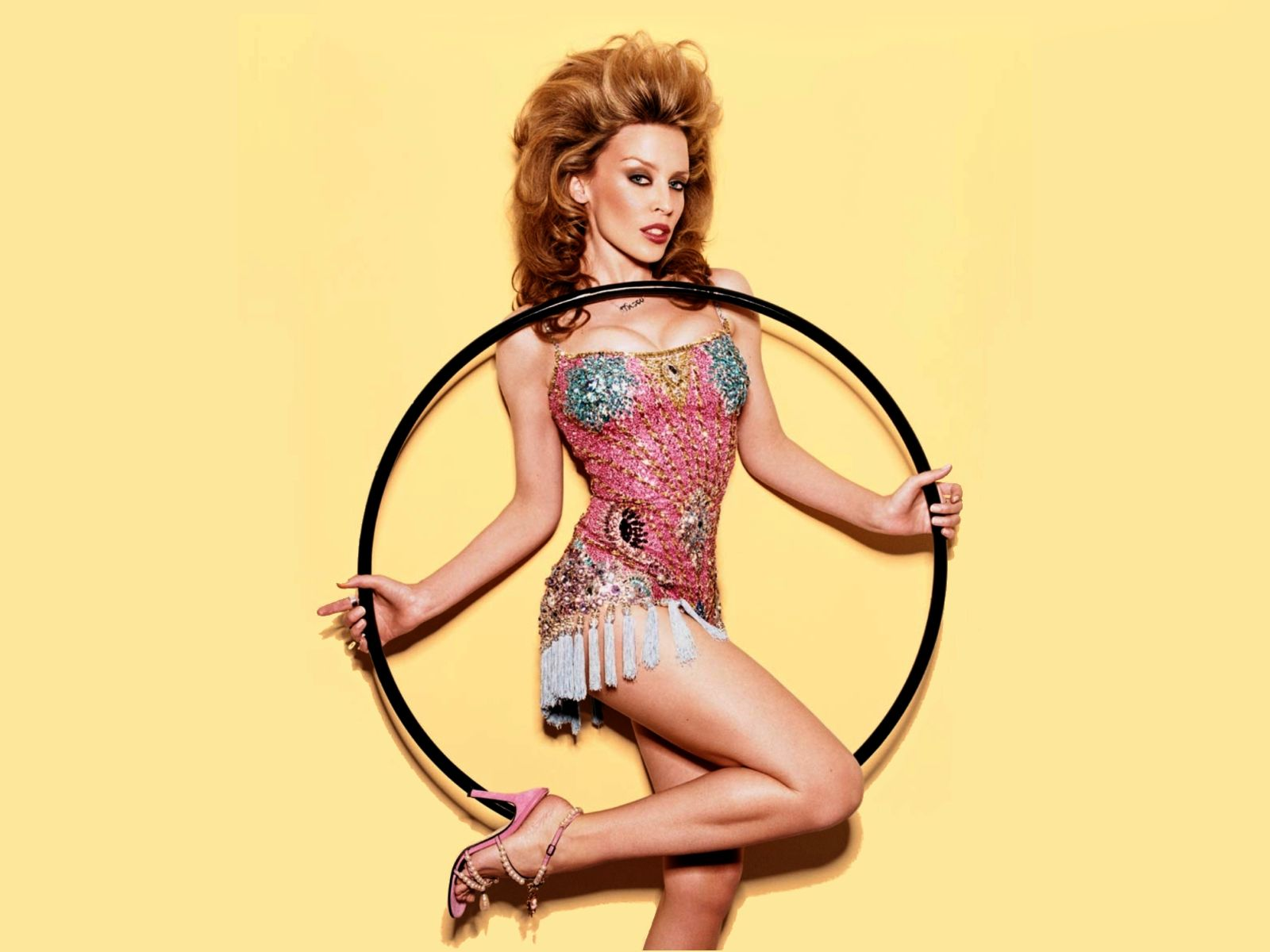 Singer kylie minogue survives and thrives