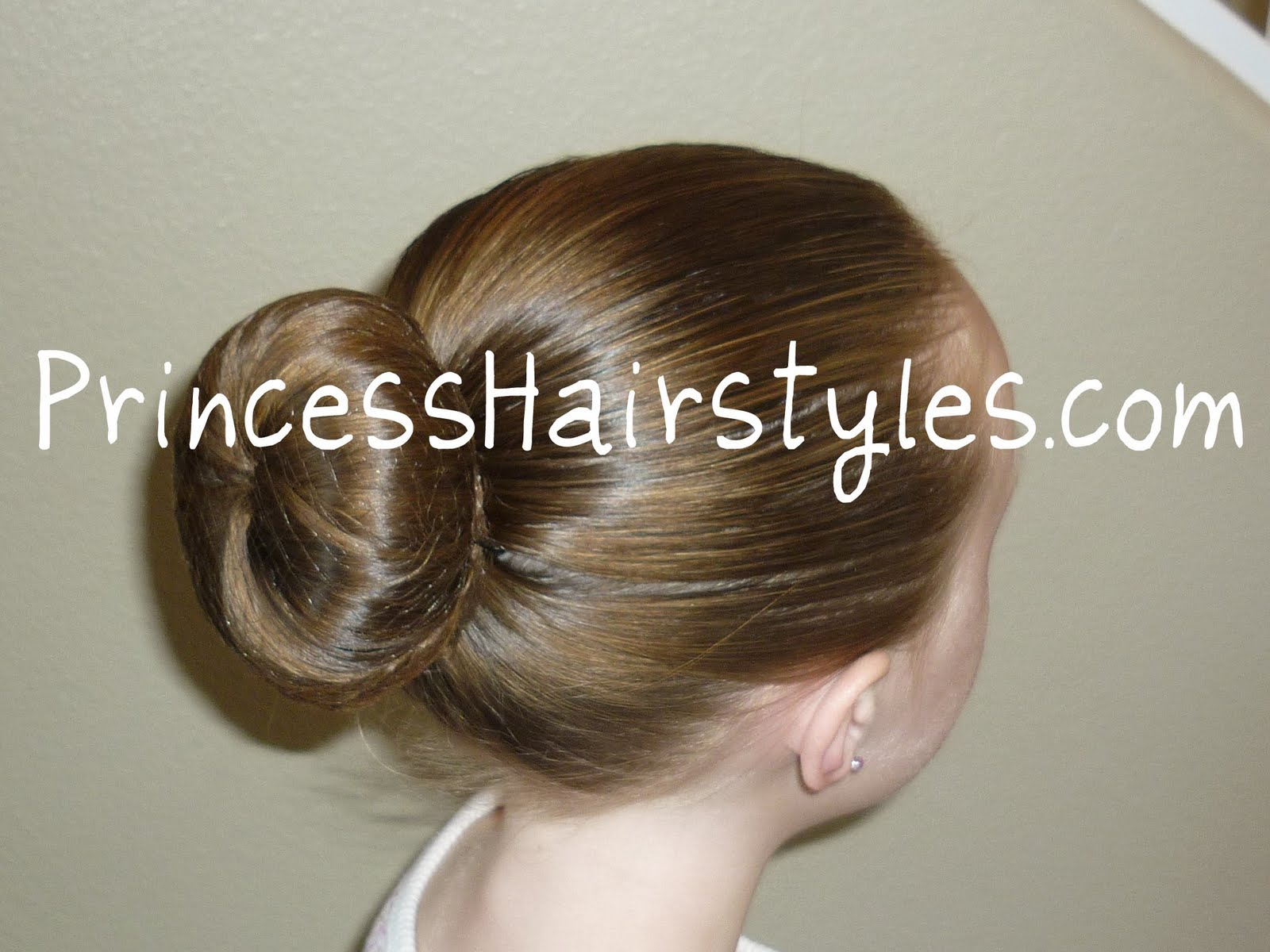 the perfect ballet bun | hairstyles for girls - princess