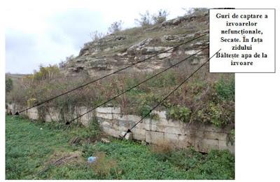Izvoarele antice de pe malul Limanului Mangalia
