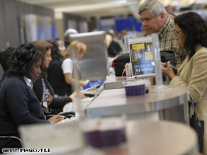 Why an airline ticket agent needs a driver's license?