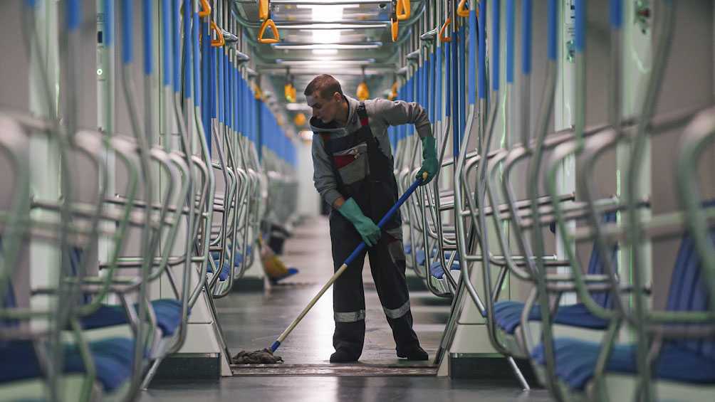 La pandemia se extiende rápido en Rusia: 10.633 nuevos casos en un solo día