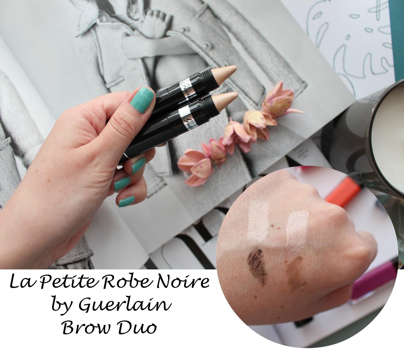 39da2df5bc5 Metamorfoza brwi z Guerlain La Petite Robe Noire Brow Duo