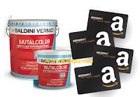 Logo Scopri e vinci con Baldini Vernici: in palio 5.405 premi Amazon, buoni carburante e non solo