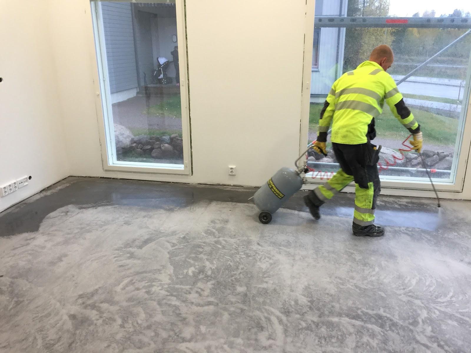 betonilattian pinnoitus