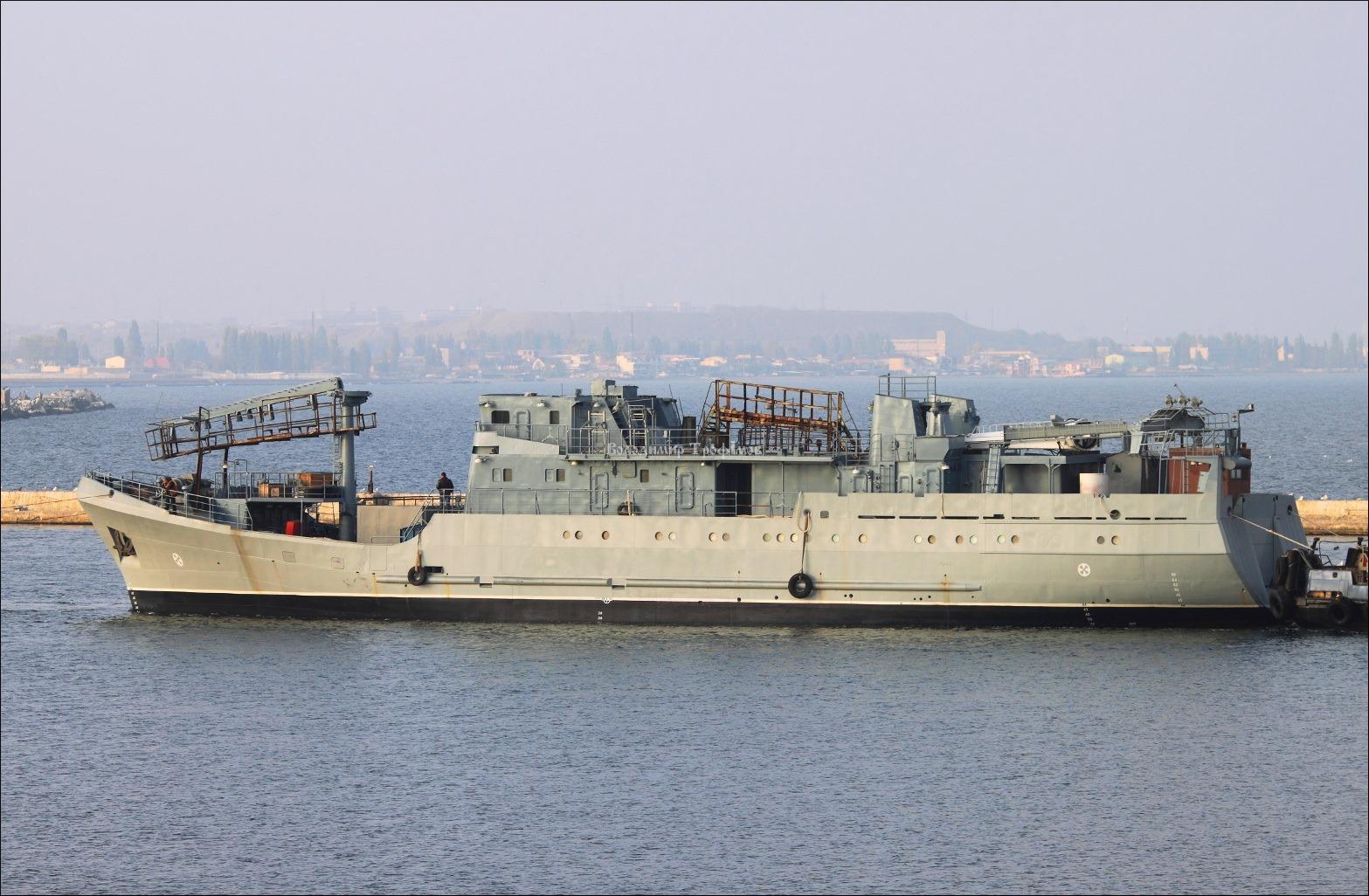 Розвідник ВМСУ вже в Одесі де його добудують