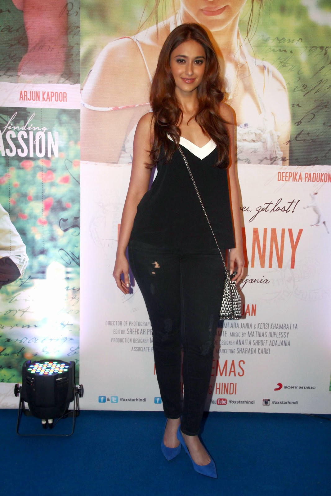 Cute Ileana Dcruz at the success party of Finding Fanny