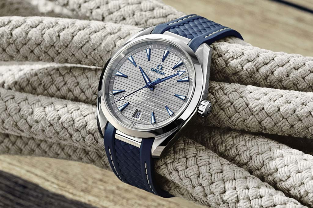b4a666eaca9 Omega redesigned its Seamaster Aqua Terra 150M Gents  Collection powering  it with Master Chronometers calibres