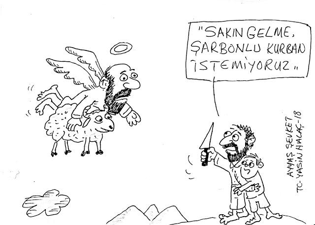 şarbon karikatür