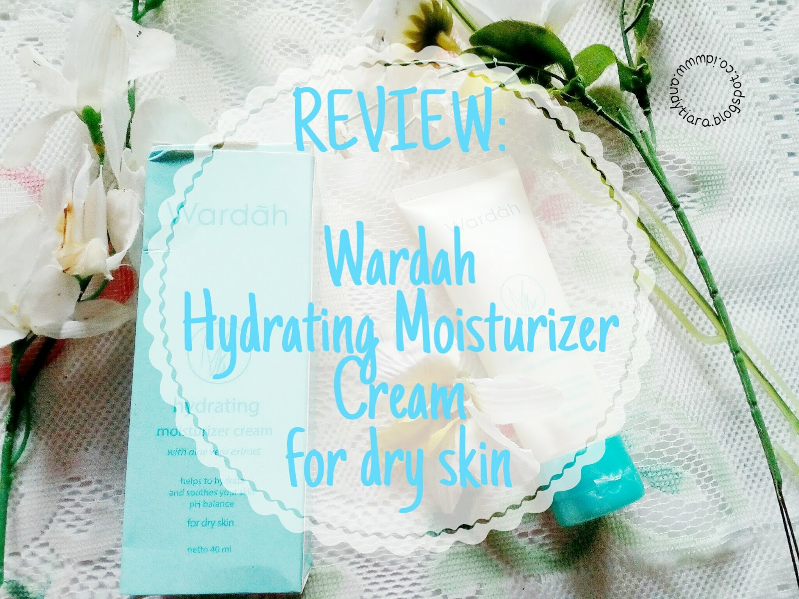Review Wardah Hydrating Moisturizer Cream For Dry Skin