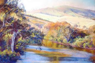 pinturas-de-horizontes-cuadros-de-rios-lynda-robinson