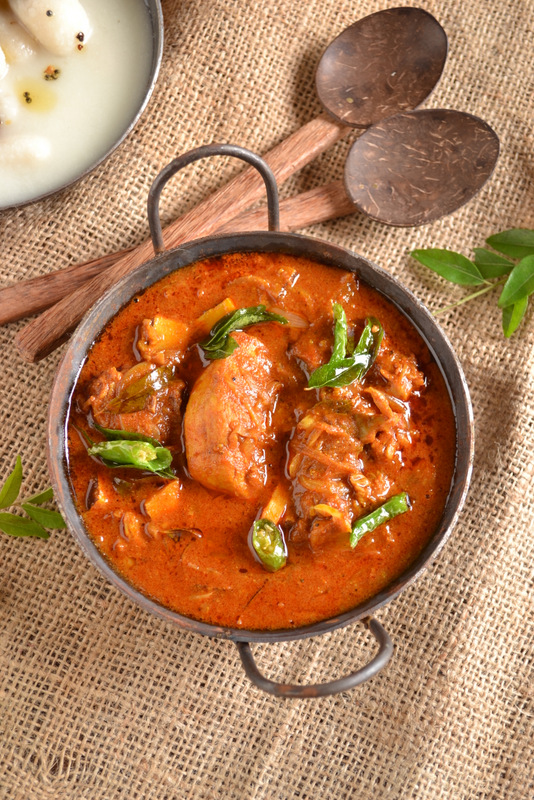 Kerala non veg recipes kurryleaves nadan chicken curry forumfinder Image collections