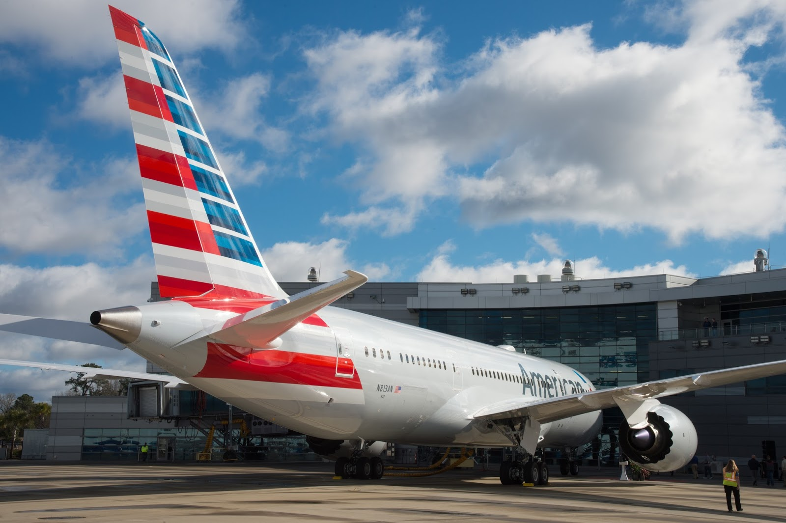 Boeing South Carolina's Delivers 100th Boeing 787 for American Airlines
