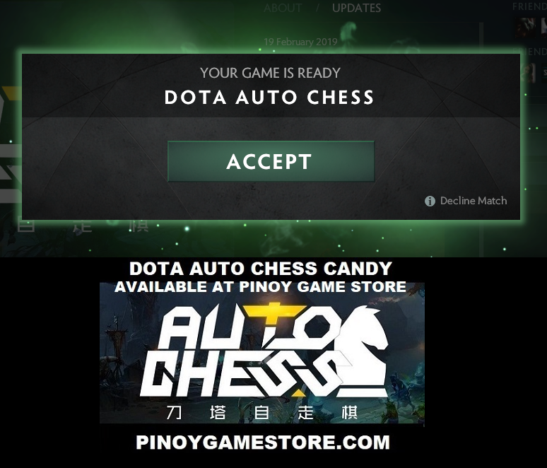 Dota Auto Chess Candy Frequently Asked Questions ~ Pinoy