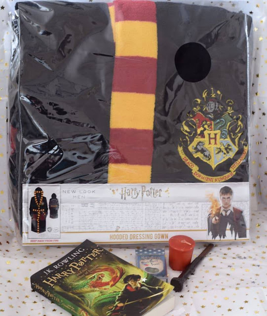 Harry Potter Gifts for Men - Dressing Gown, Wand and book