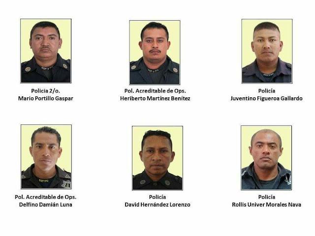 Policías muertos cuidaban a 9 familias acosadas por sicarios en Guerrero, les robaron armamento