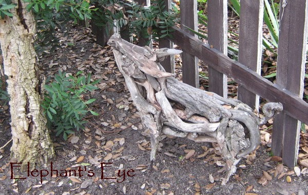 Driftwood sculpture by Heather Jansch