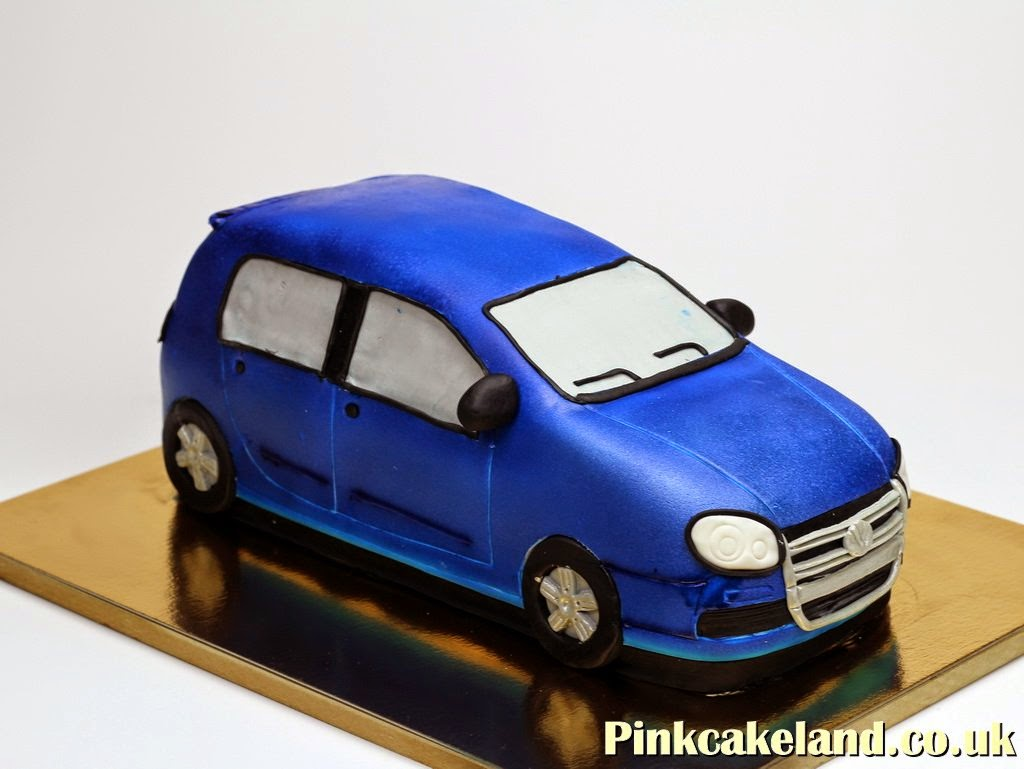 Volkswage Golf R Birthday Cake in London