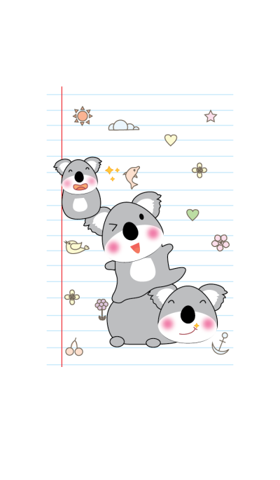 Cute Koala theme v.3 (JP)