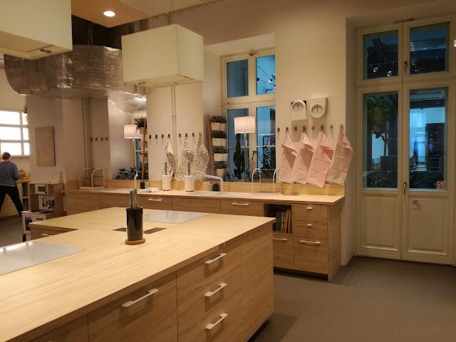 Zielenie Kuchnia Spotkań Ikea