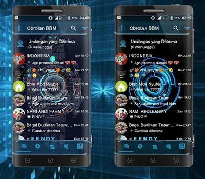 BBM Droid Chat! Futuristic Base BBM V3.2.0.6