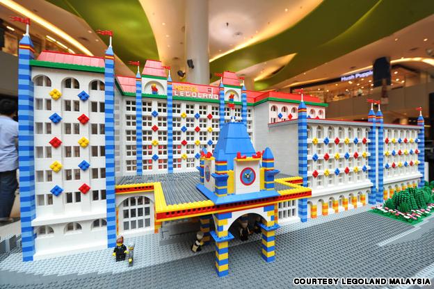 Model of Legoland Hotel Malaysia