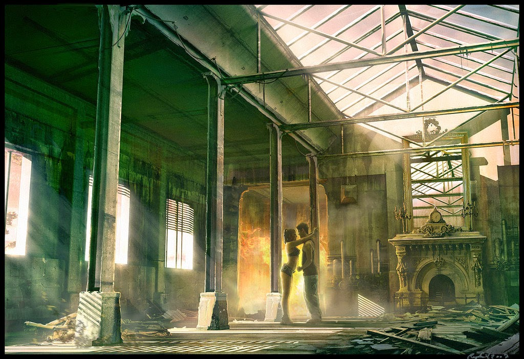 05-Come-here-Baby-Raphael-Lacoste-Matte-Paintings-and-Concept-Worlds