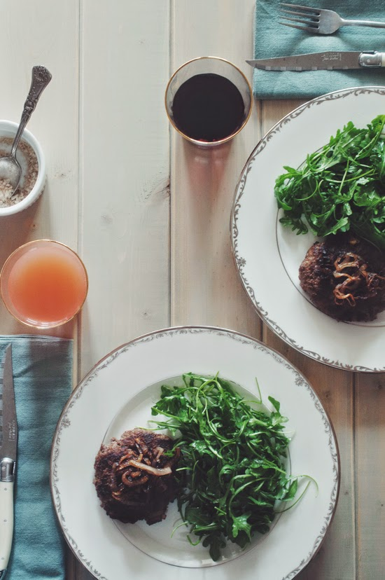 "Red Wine & Shallot Bison Burgers, ""He Won't Know It's Paleo"" review + Giveaway (AIP & Paleo)"