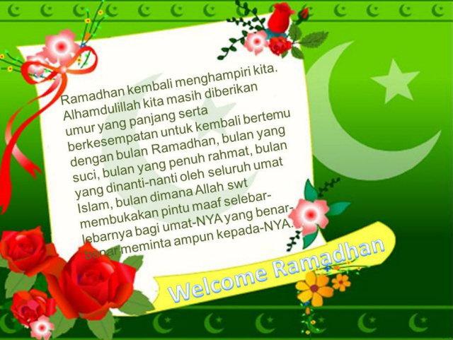 Sambut Ramadhan dengan Hati Gembira - Dokunimus