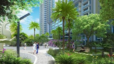 Không gian sống đẳng cấp tại Phú Mỹ Complex