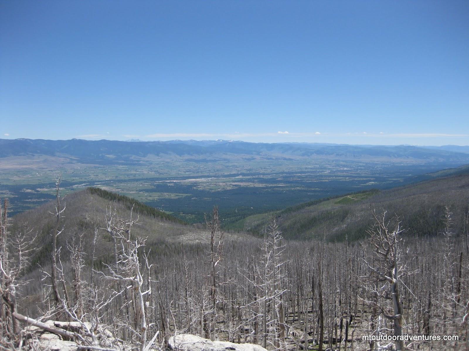 Mt St Marys >> Montana Outdoor Adventures: Gash Point, Bitterroot Selway Wilderness , Victor, MT