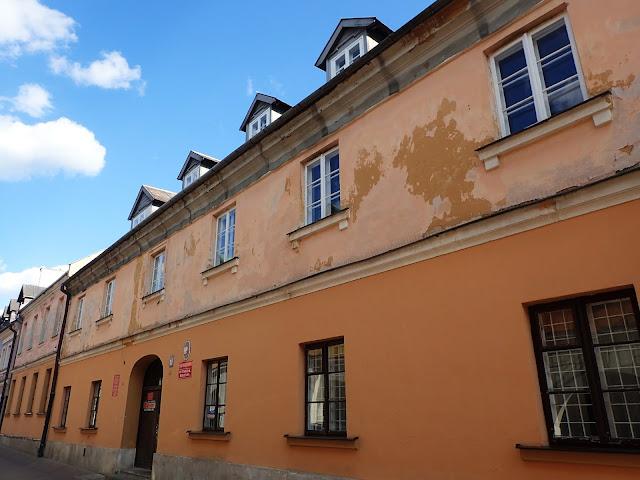 Jeden z budynków zamojskiego sądu
