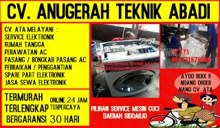 Pilihan Service Mesin Cuci Daerah Sidoarjo