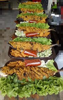 Ikan Cakalang Mandi Rica Ala Dapur Ghery, Bontang