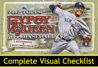 All About Sports Cards 2012 Topps Gypsy Queen Baseball Mini Sp