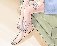 cara menghilangkan bulu kaki dan tangan
