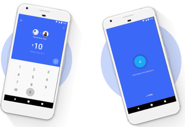 google tez cash transfer
