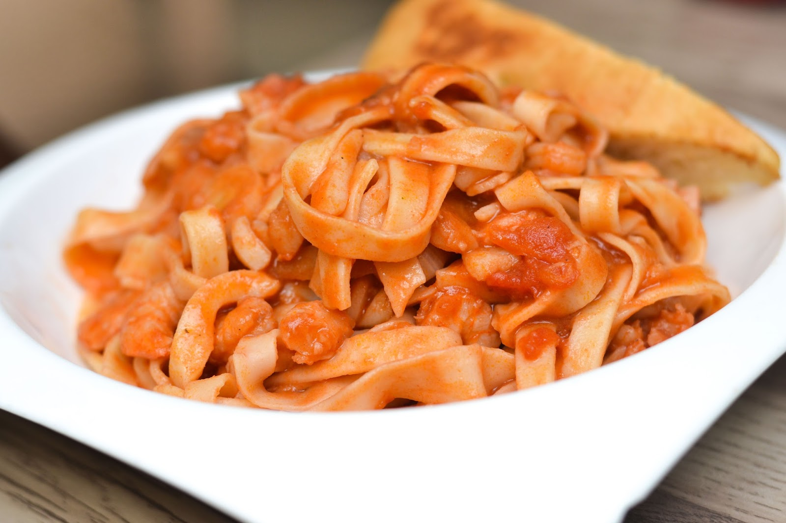tagliatelle and tomato sauce in nigeria