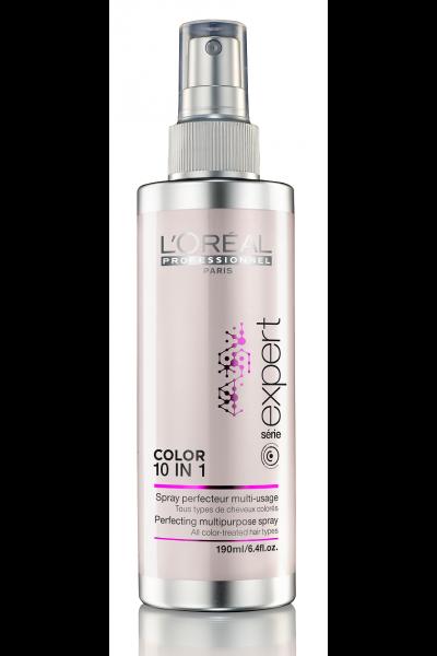 A LOREAL vai lançar um spray para cabelos coloridos que oferece 10  benefícios em uma aplicação. É o COLOR 10 em 1. Ele promete potencializar a  cor, ... 4f1a3fa133